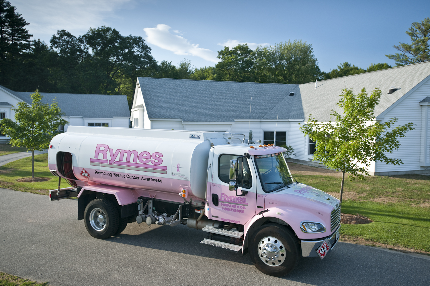 rymes truck home